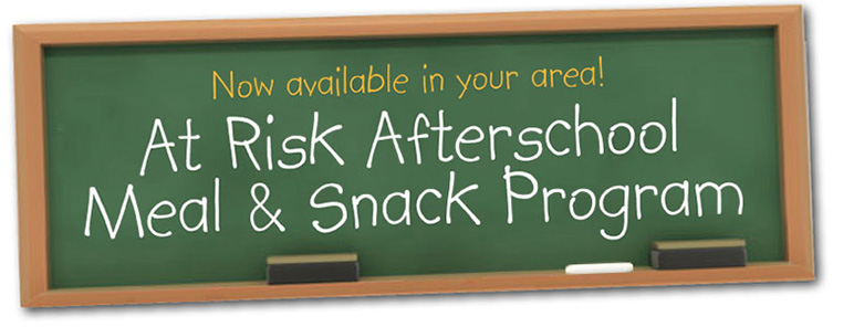Now Offering At Risk Afterschool Meal Program